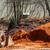 bewegende · vuil · landscaping · nieuw · huis · gebouw · werk - stockfoto © dbvirago