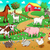 farm animals with background stock photo © ddraw