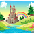 panorama with castle stock photo © ddraw