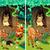 encontrar · diferenças · dois · engraçado · cão - foto stock © ddraw