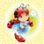 pequeno · joaninha · amor · desenho · animado · ilustração · feliz - foto stock © ddraw