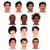 mode · mannelijke · ogen · verschillend · kleuren - stockfoto © ddraw