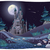 nightly panorama with castle stock photo © ddraw