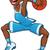 basketbal · jongen · illustratie · spelen · bal - stockfoto © ddraw