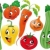 vegetales · familia · funny · Cartoon · vector - foto stock © ddraw