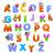 ábécé · rajzolt · állatok · háttér · oktatás · levél · olvas - stock fotó © ddraw