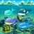 assassino · baleia · água · laranja · sol · mar - foto stock © ddraw