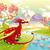 ejderha · mitolojik · manzara · karikatür · nesneler · yalıtılmış - stok fotoğraf © ddraw