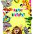 drôle · animaux · jungle · girafe · famille · vecteur - photo stock © ddraw