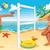 парусного · мальчика · иллюстрация · парусника · воды · морем - Сток-фото © ddraw