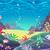 rajz · tengeri · kilátás · tengerpart · égbolt · természet · óceán - stock fotó © ddraw