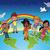mutlu · Afrika · aile · yalıtılmış - stok fotoğraf © ddraw