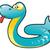 Cute · змеи · Cartoon · языком · вектора - Сток-фото © ddraw