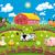 farm illustration stock photo © ddraw