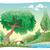 camino · árbol · cielo · flor · nubes · hoja - foto stock © ddraw