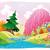 fantezi · manzara · komik · karikatür · gökyüzü · orman - stok fotoğraf © ddraw