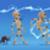 críquete · menino · ilustração · engrenagem · esportes · jovem - foto stock © ddraw