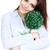 üzletasszony · tart · váza · növény · portré · fiatal - stock fotó © deandrobot