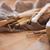 groep · gebruikt · tools · hout · industriële · dienst - stockfoto © deandrobot
