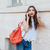 mulher · batom · vermelho · dedo · boca · beleza - foto stock © deandrobot