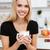 手 · 美しい · カスタム · キッチン · 女性 · キッチンのインテリア - ストックフォト © deandrobot