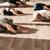 grupo · de · personas · relajante · loto · plantean · yoga · estudio - foto stock © deandrobot