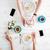man · mobiele · telefoon · cake · beker · lage · tafel · cafetaria - stockfoto © deandrobot