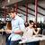 biznesmen · pracy · nowoczesne · technologii - zdjęcia stock © deandrobot