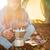 コーヒー · 古い - ストックフォト © deandrobot