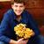 çiçekler · gülen · çocuklar · mutlu - stok fotoğraf © deandrobot