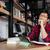 unatkozik · férfi · visel · szemüveg · munka · üzletember - stock fotó © deandrobot