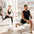grupo · de · personas · yoga · ejercicio · nina · deporte · cuerpo - foto stock © deandrobot