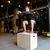 athletic man jumping on box stock photo © deandrobot