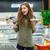 shot · keuze · twee · producten · jonge · vrouw - stockfoto © deandrobot