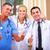 счастливым · группа · врачи · больницу · клинике · профессия - Сток-фото © deandrobot