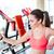 фитнес · женщину · автопортрет · тренировки · спорт · спортсмена - Сток-фото © deandrobot