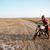 jovem · brutal · homem · condução · motocicleta · preto - foto stock © deandrobot