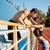 férfi · futó · útvonal · mező · portré · fiatal - stock fotó © deandrobot