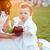 matka · córka · zielone · jabłka · rodziny - zdjęcia stock © deandrobot