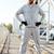 молодые · бородатый · спортивных · человека · перерыва - Сток-фото © deandrobot
