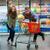 mulher · carrinho · compras · super · mercado - foto stock © deandrobot