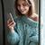 женщину · сидят · окна · красивой · заморожены - Сток-фото © deandrobot
