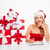 hermosa · portapapeles · maravilloso · rojo · trabajo - foto stock © deandrobot