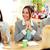 деловая · женщина · смеясь · заседание · смех · за · стороны - Сток-фото © deandrobot