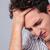jungen · Geschäftsmann · Stress · Kopfschmerzen · grau - stock foto © deandrobot