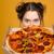 pizza · stúdió · közelkép · olasz · konyha · étterem - stock fotó © deandrobot