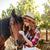 портрет · счастливым · ветеринар · лошади · Постоянный · медицинской - Сток-фото © deandrobot
