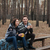 древесины · скамейке · осень · зеленый · парка · погода - Сток-фото © deandrobot