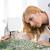 дизайнера · рабочих · швейные · машины · молодые · женщины · бизнеса - Сток-фото © deandrobot