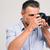 obiektyw · ręce · fotograf · projektu · technologii - zdjęcia stock © deandrobot